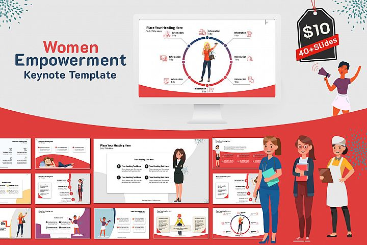 Women Empowerment KeynoteTemplate