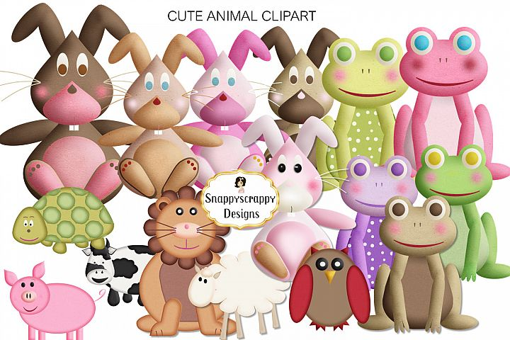 Cute Animal Clipart