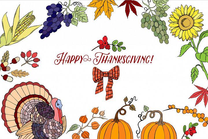 Thanksgiving Day Set
