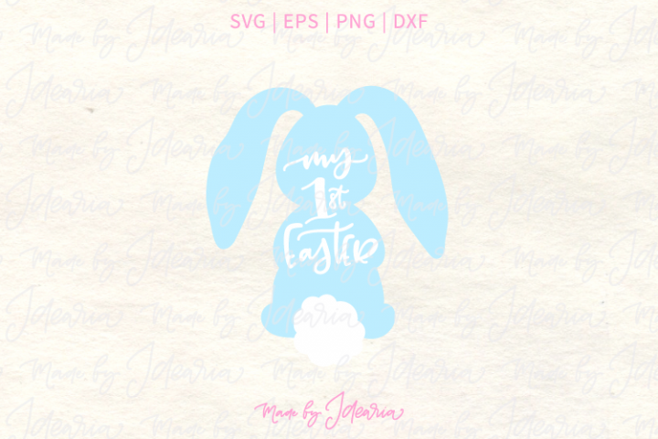 First Easter for Boy Svg Files for cute Easter Tshirt