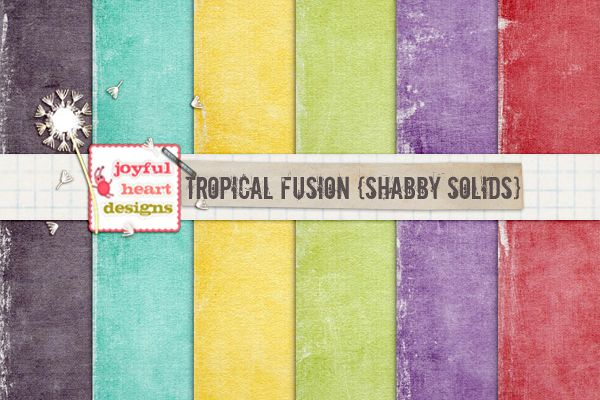 Tropical Fusion {shabby solids}