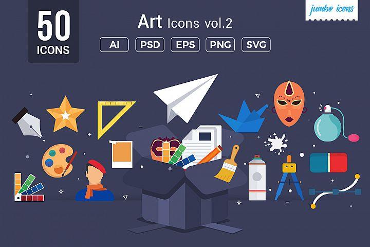 Art Vector Icons V2