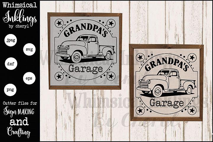 Grandpas Garage version 2 SVG