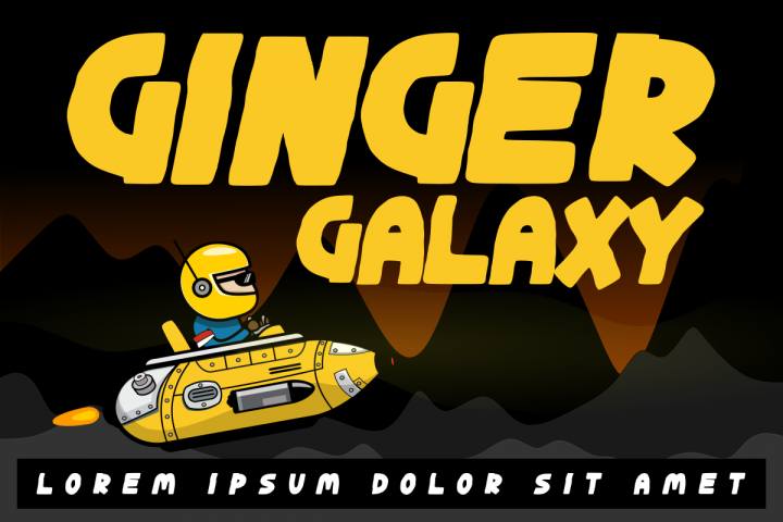 Ginger Galaxy