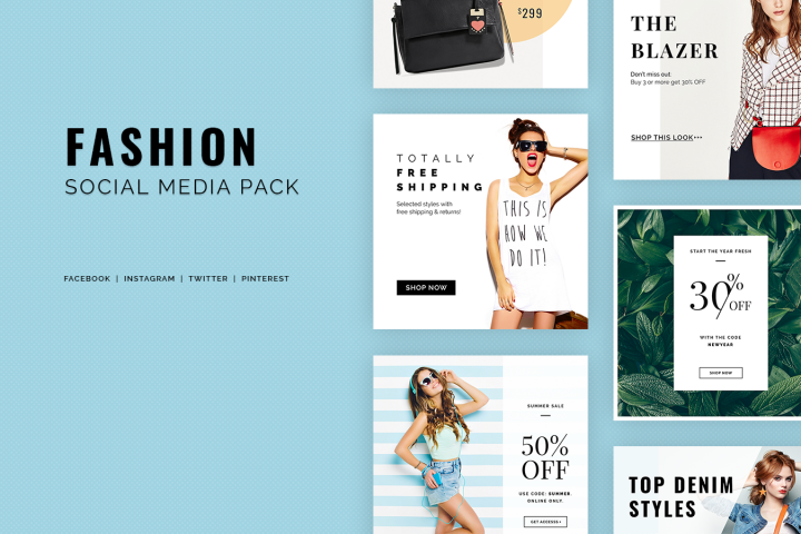 Fashion Social Media Pack