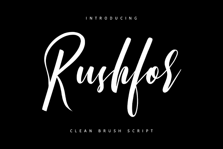 Rushfor - Clean Brush Script