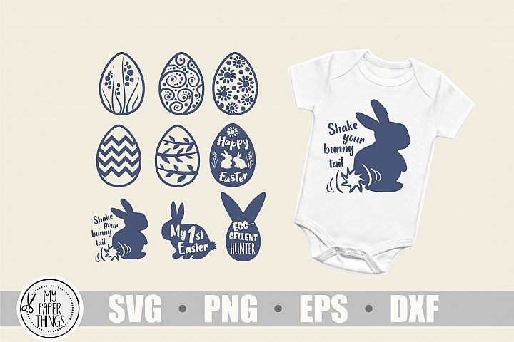 Easter Baby svg bundle