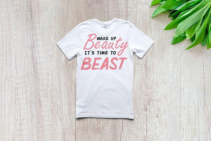 Wake up beauty | Motivational | SVG Cut files |