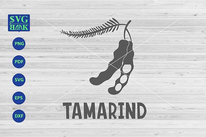 Tamarind svg, Tamarind with flower svg, png, dxf, cut
