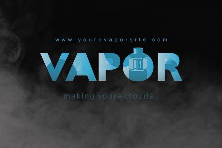 Vapor Logo Font Template