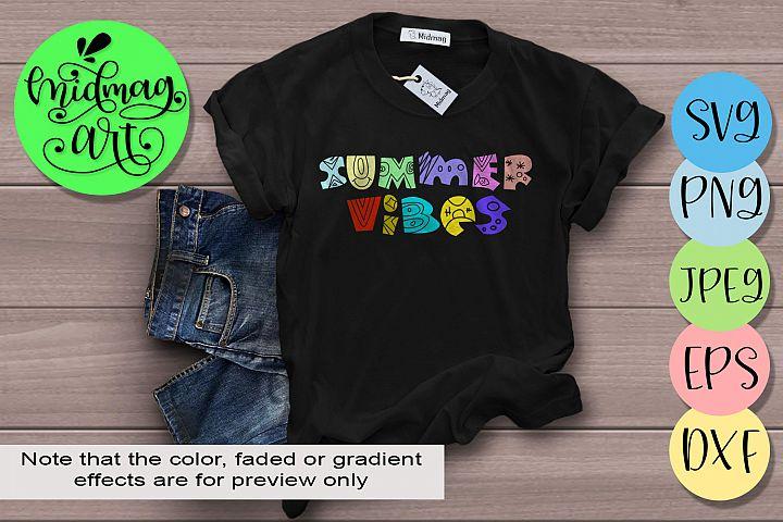 Summer vibes svg, Summer svg