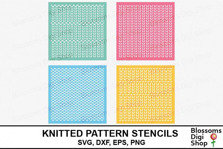 Knitted Pattern Stencils