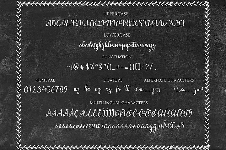 Dahlia Font example image 3