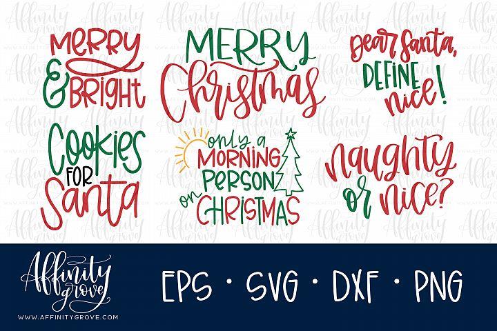 Christmas SVG Cut File Bundle!