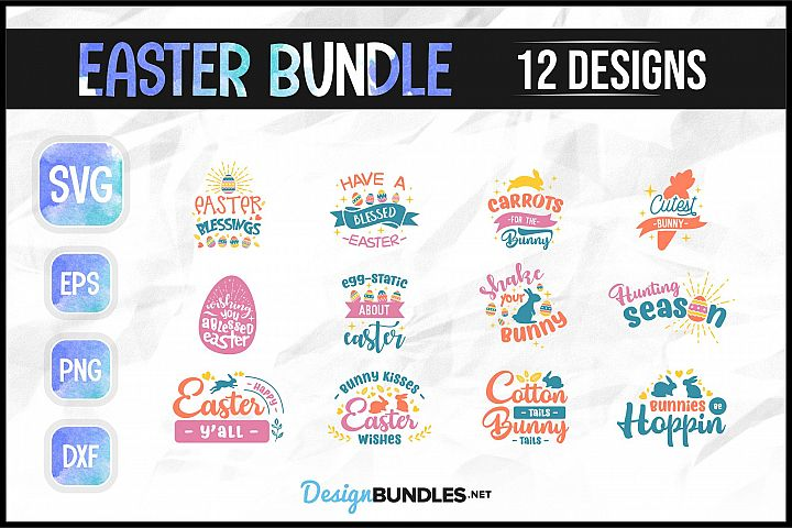 Easter SVG Bundle example