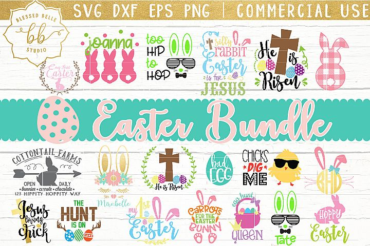 Easter SVG / Easter Bundle SVG / SVG DXF EPS PNG