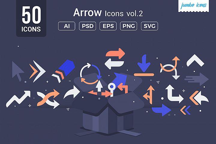 Arrows Vector Icons V2