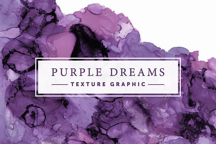 Purple Dreams | Texture Graphic