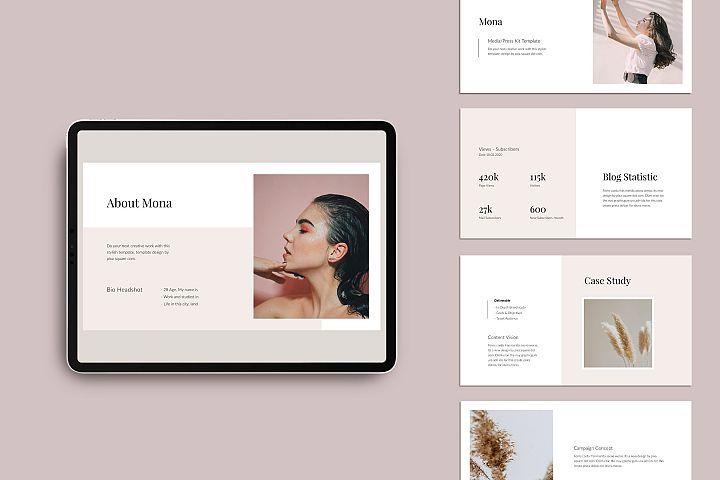 MONA - Media/Press Kit Keynote Template