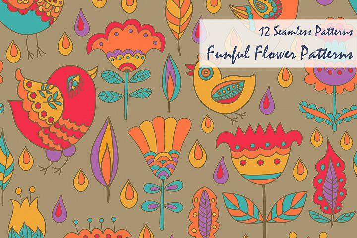Funful Flower Patterns