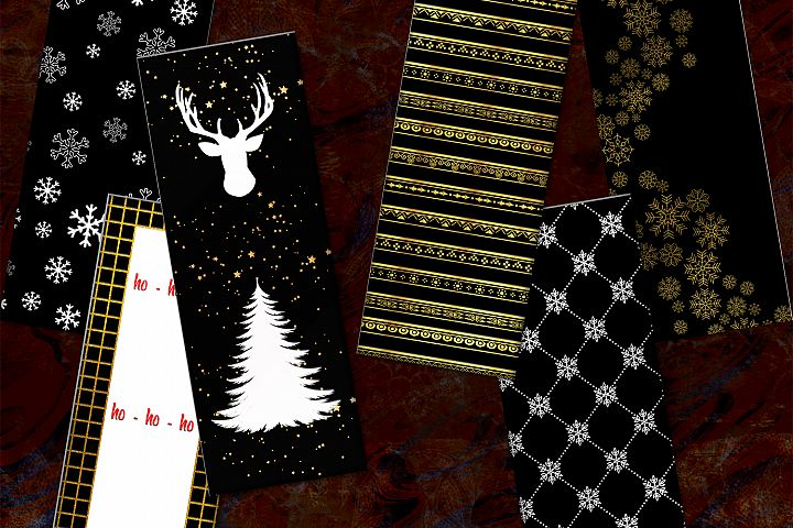 Christmas Printable, Bookmarks Digital, Card Christmas