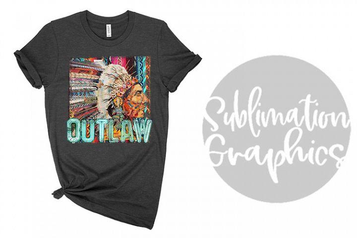 Outlaw Sublimation Digital Download
