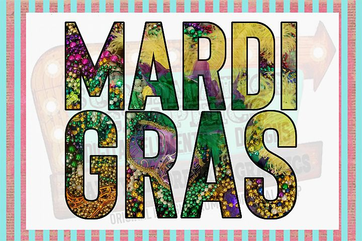 Mardi Gras Sublimation Digital Download