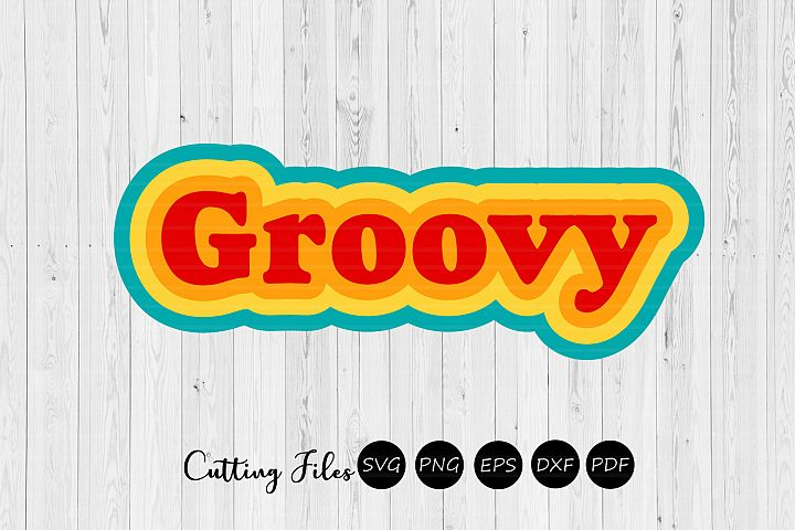 Groovy| Retro T-Shirt Design |