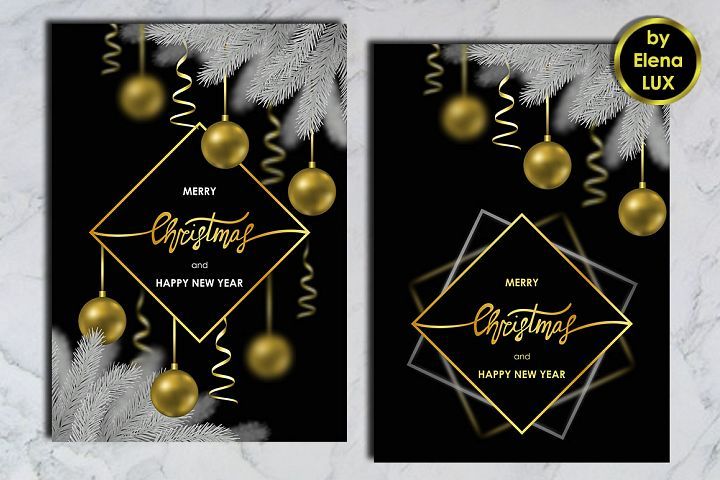Winter Holiday Card Set