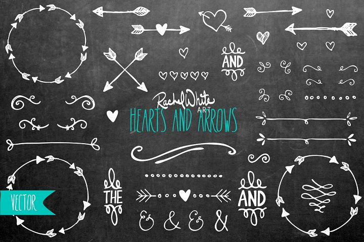Hearts & Arrows - Free Design of The Week Design 1