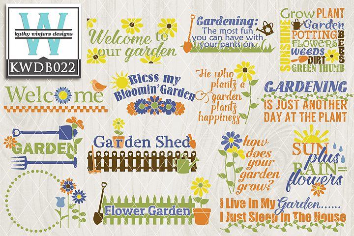 Gardening SVG - Gardening Bundle KWDB022