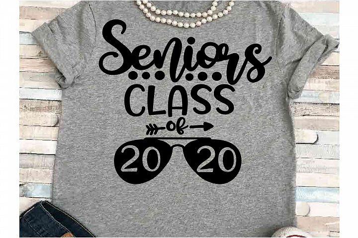Senior SVG DXF JPEG Silhouette Cameo Cricut Class of 2020 20
