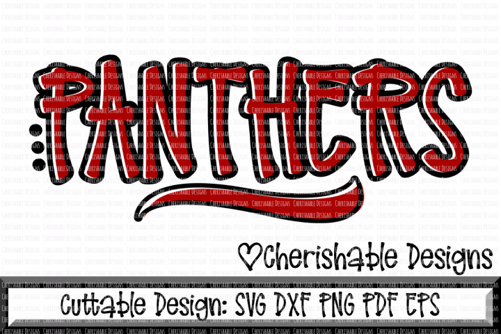 Panthers Sport SVG DXF PNG PDF EPS