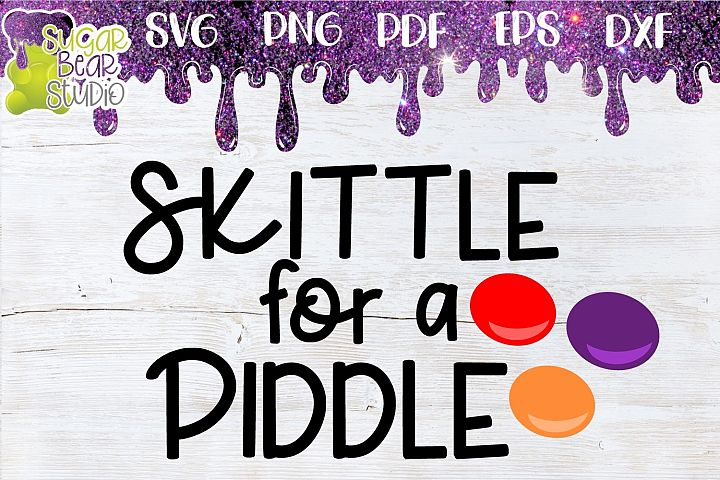 Skittle For A Piddle SVG