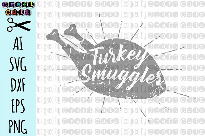 Turkey Smuggler Maternity SVG, Grunge Thanksgiving Maternity