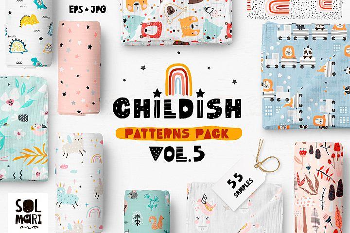 Childish patterns pack vol. 5