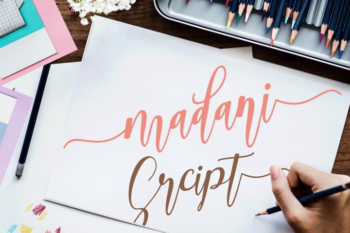 madani script