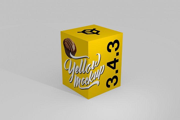 3.4.3 Simple 3D Box Mockup PSD