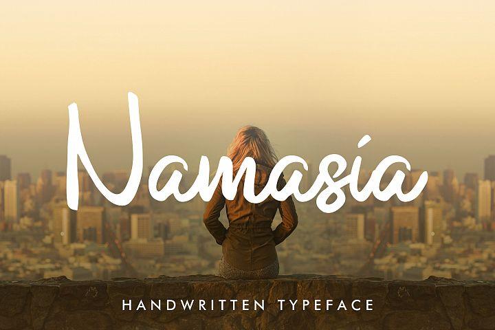 Namasia   Natural Script