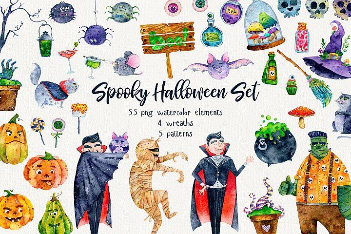 Spooky Halloween Set