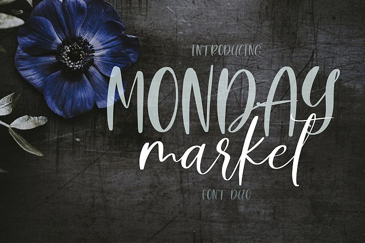Monday Market Font Duo