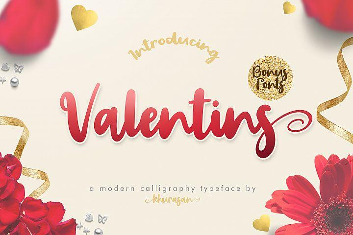 Valentins Plus Bonus 2 Font