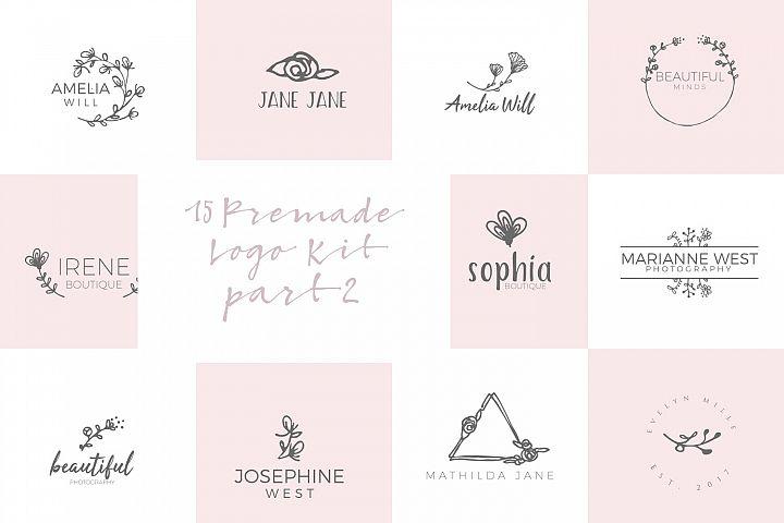 Feminine Premade Logo Kit part 2