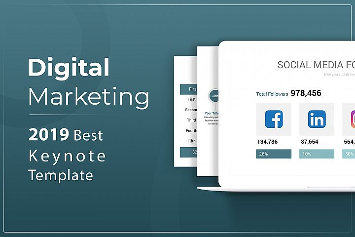 Digital Marketing Keynote Template