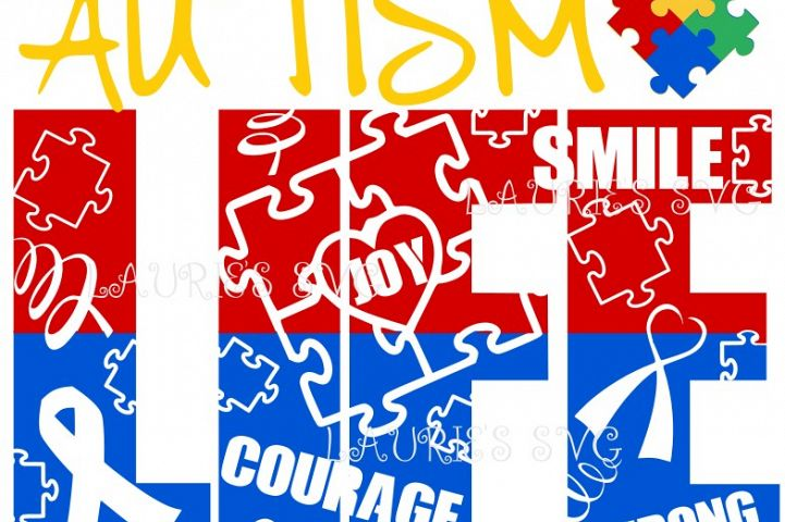 AUTISM LIFE SVG,EPS,DXF,PNG,JPG
