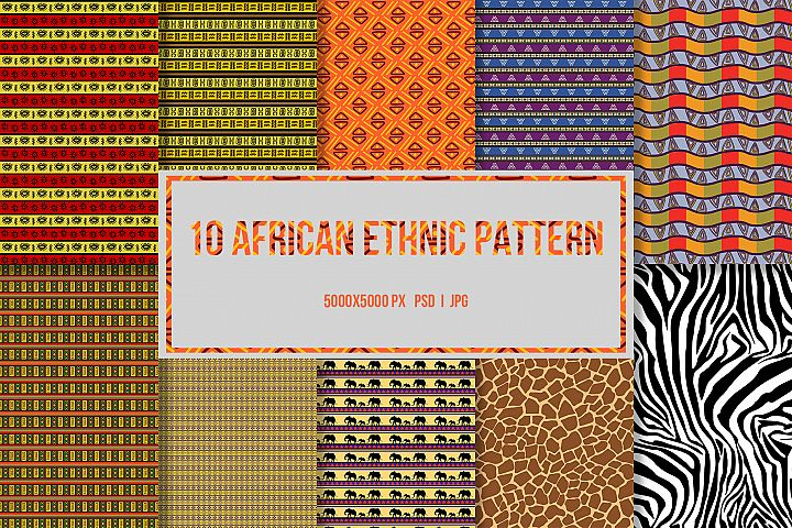 10 African Ethnic Patterns