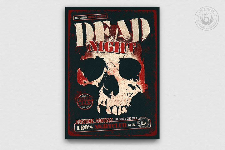 Halloween Flyer Template V24