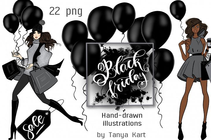 Black Friday Hand Painted Design Kit