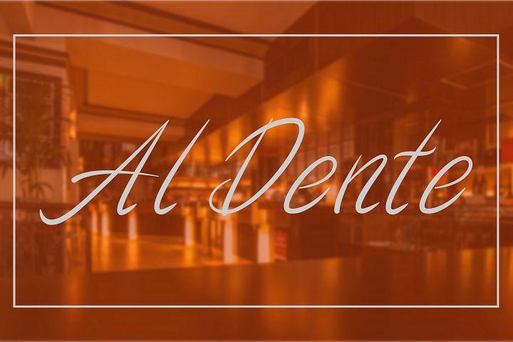 Al Dente Font
