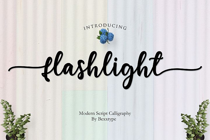 NEW Flashlight Script | Calligraphy